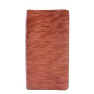 Brown Epi Long Bifold Wallet 9LR0618